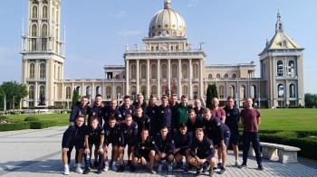 Piłkarze Pogodni II Szczecin odwiedzili licheńskie sanktuarium