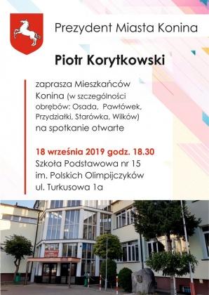 Dla mieszkańców Osady, Pawłówka, Przydziałek, Starówki i Wilkowa