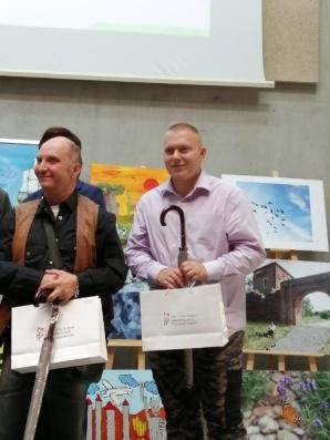 Podopieczny ślesińskiego DPS laureatem konkursu plastycznego