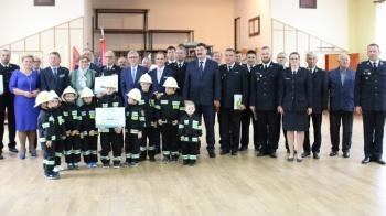 Nowy sprzęt dla OSP w Krzymowie, Kazimierzu Biskupim i Rzgowie