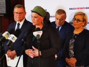 Konin. Grzegorz Schetyna przyjechał z poparciem dla kandydatów