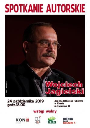 Konin lubi książki. Spotkanie autorskie z Wojciechem Jagielskim