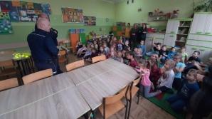 """policja  """"Razem dla bezpieczeństwa"""" w Sompolnie i Skulsku"""