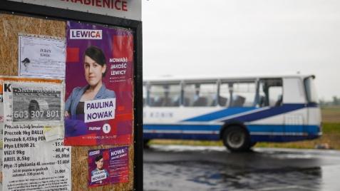 Paulina Nowak, liderka Lewicy, zawalczy o autobus w każdej gminie i kolej w każdym powiecie