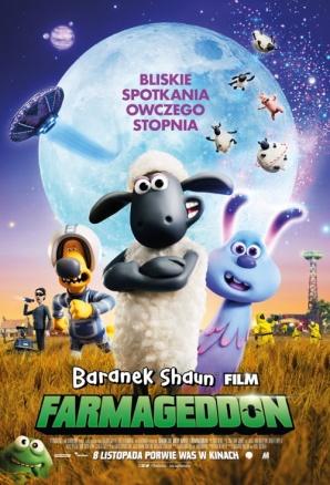 Baranek Shaun Film. Farmageddon