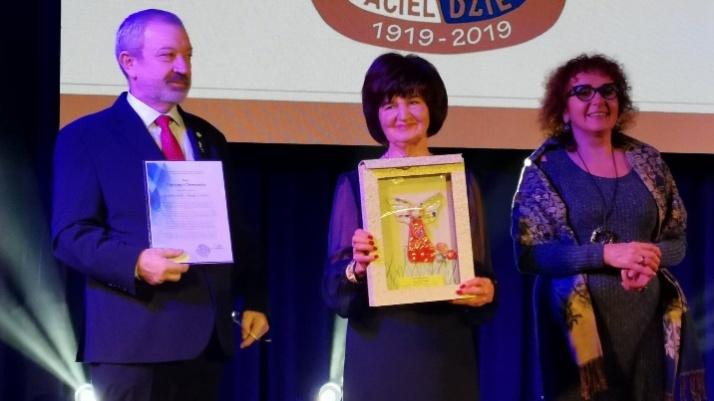 Anioł dla Krystyny Chowańskiej. TPD obchodziło 100-lecie istnienia