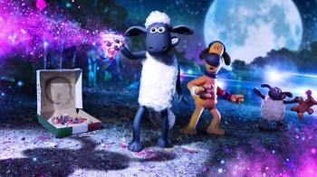 Baranek Shaun Film. Farmageddon / dubbing