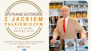 Spotkanie autorskie z Jackiem Pałkiewiczem