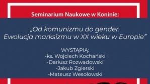 """Konin. """"Od komunizmu do gender"""". Spotkanie w przykościelnej auli"""