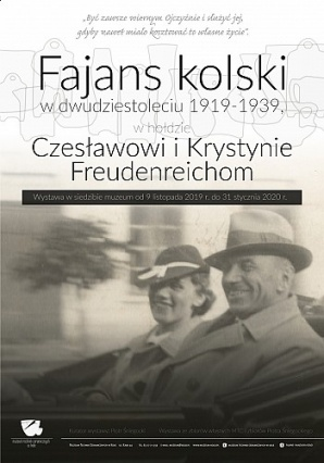 Fajans kolski w dwudziestoleciu 1919 - 1939. Ciekawa wystawa