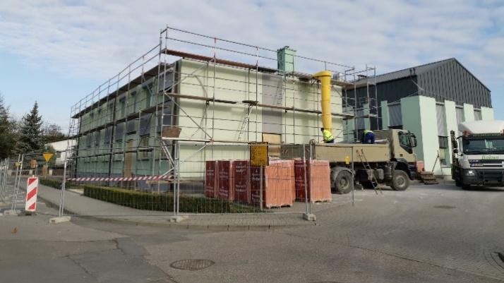 Stare Miasto. Trwa rozbudowa Urzędu Gminy. Będzie drugie piętro