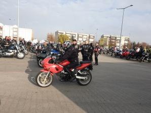 Patriotyczna parada motocyklowa przejechała ulicami Konina