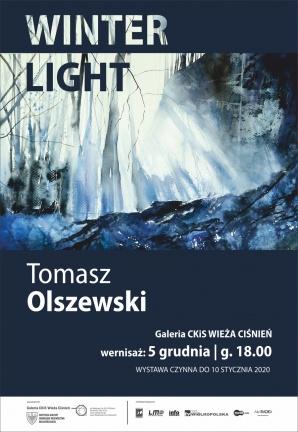 """Urokliwe akwarele Tomasza Olszewskiego - wernisaż """"Winter Light"""""""