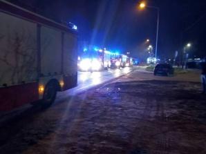 Ogromny pożar w Turku. Spłonęła hala firmy produkującej meble