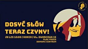 Młodzieżowy Strajk Klimatyczny po raz kolejny na ulicach Konina