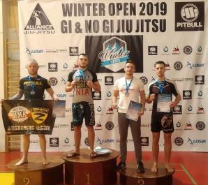 Trzy medale konińskich Shootersów na turnieju Winter Open 2019