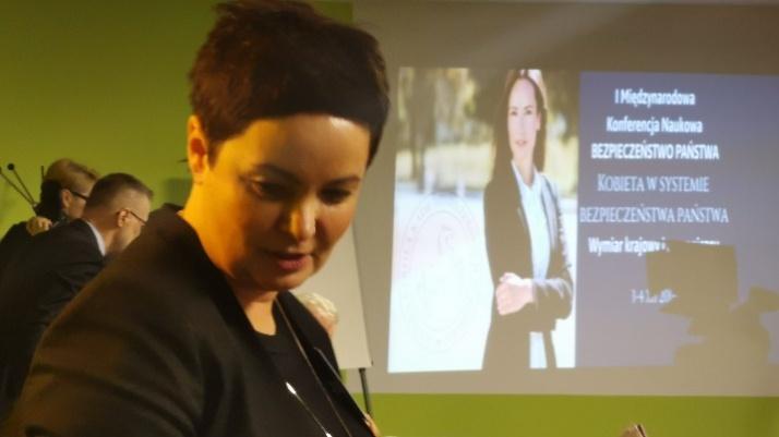 Konferencja WSKM. Kobiety w systemie bezpieczeństwa państwa