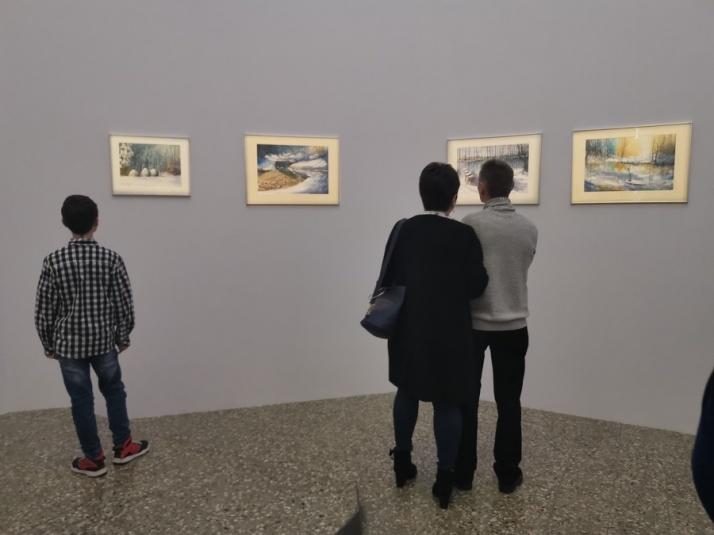 Wystawa Tomasz Olszewskiego wprowadza w zimowe klimaty
