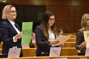 Konińska radna Emilia Wasielewska w Brukseli na sesji dla klimatu