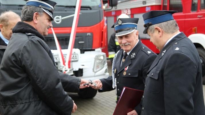"""""""Stasiu"""" będzie służył w Przyjmie. Druhowie mają nowy samochód"""