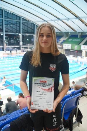 Mistrzostwa Polski Juniorów. Julia Wróbel z brązowym medalem!