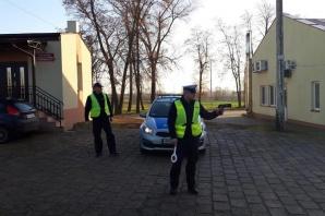 Policyjna kontrola na drogach w gminach: Sompolno i Wierzbinek