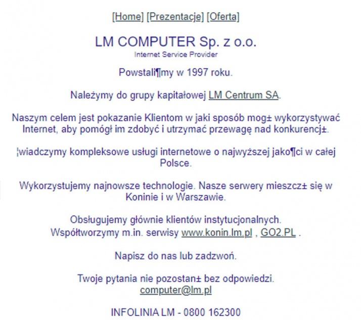 LM czyli Lech i Markku. Początki najstarszego konińskiego portalu