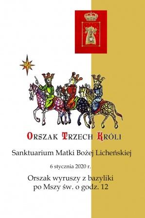 Licheńskie sanktuarium zaprasza na pierwszy Orszak Trzech Króli