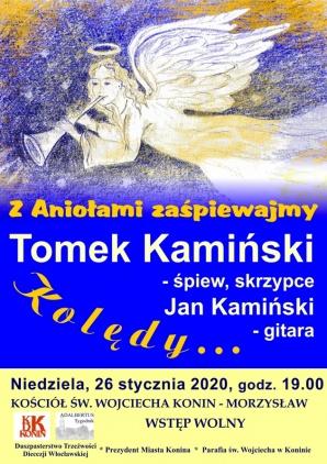 Koncert Tomka Kamińskiego w św. Wojciechu