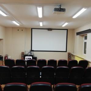 Kino. Szkolne kino prawie gotowe. Otwarcie planowane na wiosnę