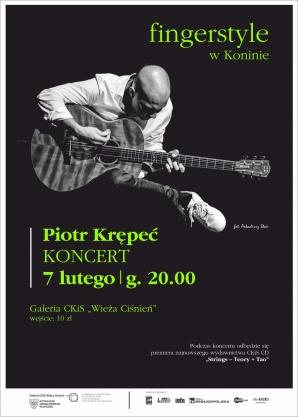 Piotr Krępeć - wirtuoz gitary w Galerii Wieża Ciśnień