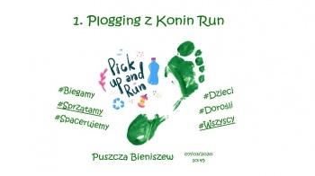 Bieniszew. 1. Plogging z Konin Run. Będą biegać i zbierać śmieci