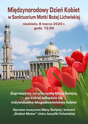 Uroczysta msza święta i specjalny koncert w licheńskiej bazylice