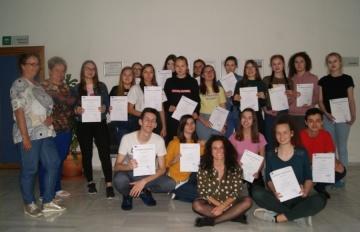 Uczyli się zawodu w Hiszpanii. Staż uczniów ZSEU w Żychlinie
