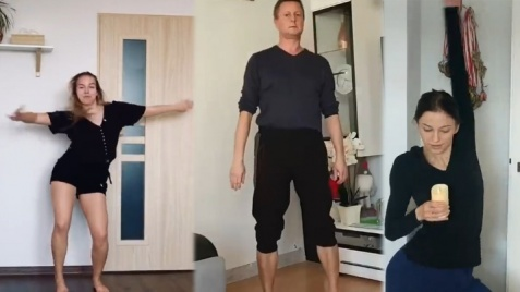 """Koninianie w """"Kwarantańcu"""" polskich choreografów i tancerzy"""