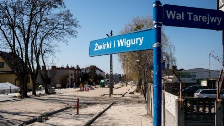 Bez zakłóceń prowadzone są remonty: Leśnej oraz Żwirki i Wigury