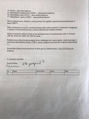 Prezydent Konina zlecił opinię prawną pisma od Poczty Polskiej