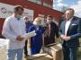 Oklaski dla medyków i respirator dla szpitala od MZGOK Konin
