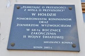 """Skromne i ciche, ale  miejskie """"obchody"""" rocznicowe w Koninie"""