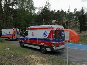 Konińscy ratownicy przewozili zakażonych seniorów z Liskowa