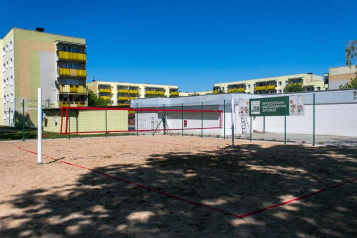 Konin. Nowe boisko do siatkówki plażowej powstało na Zatorzu