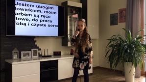 Uczniowie z Wąsosz zaśpiewali ulubioną pieśń Jana Pawła II