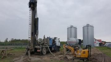 Grodziec. Ruszyła budowa trzeciej studni Stacji Uzdatniania Wody