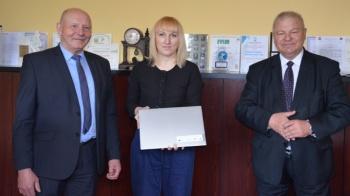 Laptopy trafiły do trzech szkół średnich w powiecie konińskim