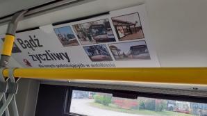 Estetyczne ramki zamiast plakatów w autobusach konińskiego MZK