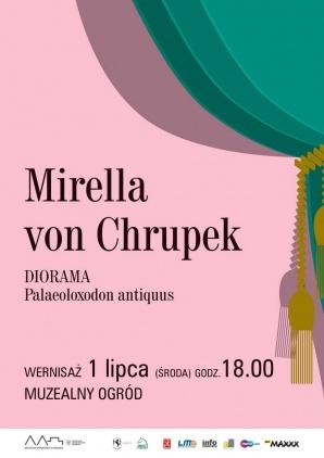 """Mirella von Chrupek """"Diorama. Palaeoloxodon antiquus"""""""