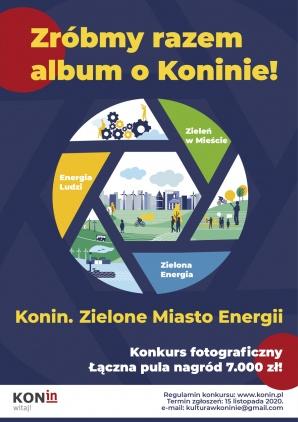 Róbcie zdjęcia Konina i jego mieszkańców do albumu o mieście!