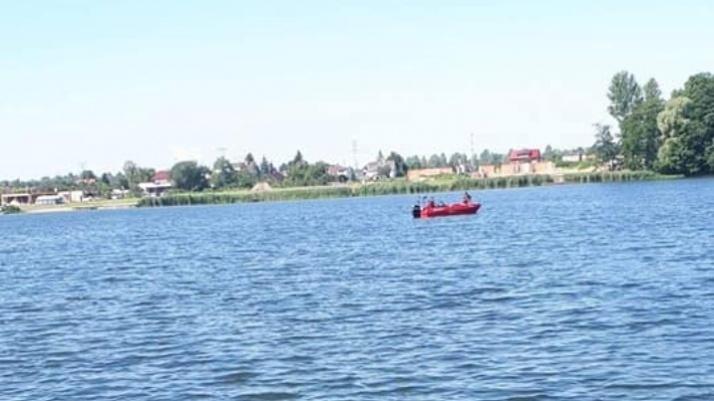 Wypadek na jeziorze Mikorzyńskim
