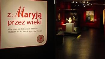 """""""Z Maryją przez wieki"""" to jedna z wystaw w licheńskim muzeum"""