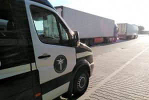 Żdżary. Zatrzymany za złamanie zakazu ruchu ciężkich pojazdów